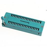ic bloco 40p 40p bloqueio assento 40pic chip de banco de ensaio ao vivo bas IC socket