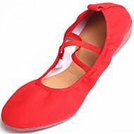 Dansesko(Sort Rød) -Kan ikke tilpasses-Lave hæle-Damer-Dansesko Ballet