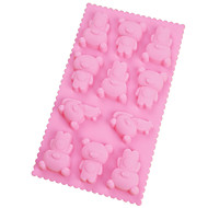 billige Bakeredskap-silikon mold tegneserie dyr
