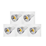 GU10 Lâmpadas de Foco de LED MR16 1 COB 600 lm Branco Quente Branco Frio Branco Natural K AC 85-265 V