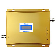 dual band gsm 3g signal repeater 900MHz 2100MHz WCDMA signalforstærker 3g mobiltelefon booster UMTS lcd display