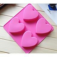 tanie Przybory do pieczenia-moda lodu modelowania narzędzia podejmowania ciasto czekoladowe ciasto silikonowe formy cukierki galaretki mydło formy (losowy kolor)
