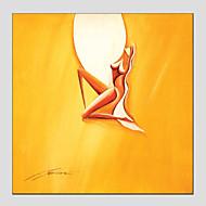 billiga Nude Art-Hang målad oljemålning HANDMÅLAD - Abstrakt Europeisk Stil Moderna Duk