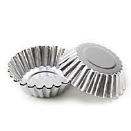 preiswerte -Multifunktions-Metall tart Pudding DIY Tools