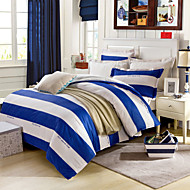 cheap Duvet Covers-Blue&White Bedsheet Pillowcases Duvet Cover