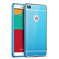 billiga Mobil cases & Skärmskydd-För Huawei-fodral P9 P8 P8 Lite Plätering Spegel fodral Skal fodral Enfärgat Hårt Akrylfiber för Huaweihuawei P9 Huawei P8 Huawei P8 Lite