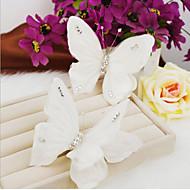 billiga Brudhuvudbonader-Kristall Akrylfiber Tyg Tiaras pannband 1 Bröllop Speciellt Tillfälle Fest / afton Hårbonad