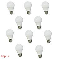 billige Globepærer med LED-10 stk 3w e26 / e27 led globe pærer 350lm varm hvit kald hvit dekorative ac220-240v