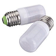 billige Kornpærer med LED-3.5W 250-300 lm E26/E27 LED-kornpærer T 27 leds SMD 5730 Varm hvit Kjølig hvit DC 12 V