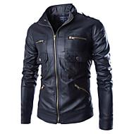 muška casual dugačka rukava redovna casual jakna, stalak ovratnik