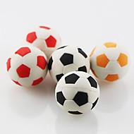 かわいいサッカーサッカー消しゴム(ランダムカラー)を構築
