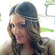 Κράμα Καλύμματα Κεφαλής / Αλυσίδα κεφαλής με Φλοράλ 1pc Ειδική Περίσταση / Causal / ΕΞΩΤΕΡΙΚΟΥ ΧΩΡΟΥ Headpiece