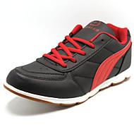 baratos Sapatos Masculinos-Sapatos Masculinos - Sapatos para Esportes - Vermelho - Courino - Para Esporte