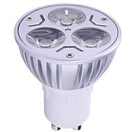 1pc 6w gu10 led spotlight 3 yüksek güç 400lm sıcak beyaz soğuk beyaz dekoratif ac85-265v açtı