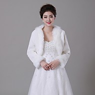 Faux Fur Wedding Fur Wraps / Fur Coats With Coats / Jackets