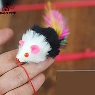 お買い得  犬用おもちゃ-猫用おもちゃ ペット用おもちゃ ティーザー 猫じゃらし マウス 繊維 ペット用