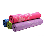 cheap Yoga Mats, Blocks & Mat Bags-Yoga Mats Odor Free Eco-friendly Non-Slip Waterproof Quick Dry Non Toxic Sticky PVC (1/4 inch) 6 mm for