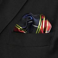 Muškarci Color block Karirani uzorak Zabava Ležerne prilike Osnovni Osnovni, Umjetna svila - Kravata