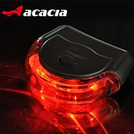 billige Sykkellykter og reflekser-Baklys til sykkel / sikkerhet lys / Baklys - - Sykling Enkel å bære knapp batteri Usb / Batteri Sykling - Acacia