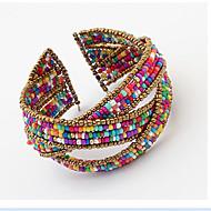voordelige Vintage Armbanden-Schattig Bohémien 1pc Cuff armbanden - Uniek ontwerp / Vintage / Werk Schermkleur Armbanden Voor Feest / Lahja / mielitietty / Bohémien