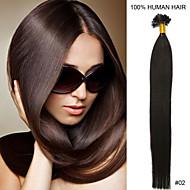 18 inch remy nagel tip haar 0.5g / s human hair extensions 18 kleuren voor vrouwen schoonheid