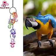 preiswerte Accessoires für Vögel-Vogel Vogelspielzeug Metall Plastik Mehrfarbig