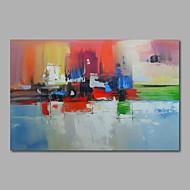 Pintados à mão AbstratoModerno 1 Painel Tela Pintura a Óleo For Decoração para casa