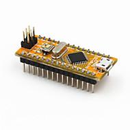 Nový nano v3.0 modul atmega328p-au vylepšená verze pro Arduino - žlutá