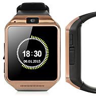 tanie Inteligentne zegarki-Inteligentny zegarek GV08 na Android Spalone kalorie / Długi czas czuwania / Ekran dotykowy / Kamera / aparat / Śledzenie odległości Czasomierz / Powiadamianie o połączeniu telefonicznym / Budzik