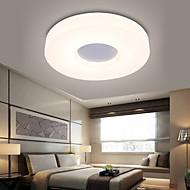 billige Takbelysning og vifter-Ecolight™ Takplafond Omgivelseslys - LED, 90-240V, Varm Hvit / Hvit, Pære Inkludert / 5-10㎡ / Integrert LED