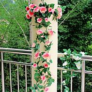 dnevnom boravku zidu visi ratana plastične ruže umjetnog cvijeća (1pc)