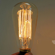 40w e27 edison ST64 retro light bulb (220-240V) High Quality