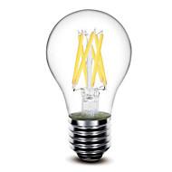 お買い得  LED電球-1個 5W 500 lm E26/E27 フィラメントタイプLED電球 G60 6 LEDの COB 調光可能 温白色 AC 110〜130V AC 220-240V