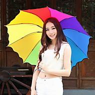 Fashion Nylons / Metal siebzig Prozent aus mehrfarbigen Regenschirm moderne / zeitgemässe / casual (Farbe zufällig)