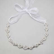 billiga Brudsmycken-Vit Kristall - Vit Halsband Smycken Till Bröllop, Party, Speciellt Tillfälle, Årsdag, Födelsedag, Förlovning