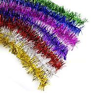 """10個入り/ 200センチメートル/ 78.4 """"クリスマスの飾り羽ふわふわボアストリップ仮装パーティー結婚式クリスマスの贈り物ランダムな色を設定"""