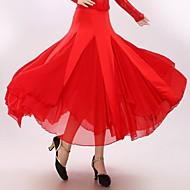 Standardní tance Šaty a sukně Dámské Výkon Süt Filtresi Nařasený Jeden díl Sukně 90