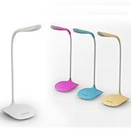 billige Skrivebordslamper-Moderne / Nutidig LED Skrivebordslampe Til PVC Hvit Gul Rosa Lyseblå