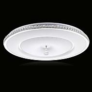 billige Taklamper-Ecolight™ Takplafond Omgivelseslys Metall Akryl Krystall, LED 90-240V Varm Hvit / Hvit LED lyskilde inkludert / Integrert LED