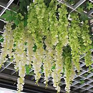 Gren Plastikk Planter Veggblomst Kunstige blomster 120cm*15cm*15cm