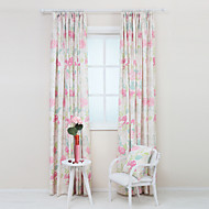 Rod Pocket Grommet Top Tab Top Double Pleated Pencil Pleated Two Panels Curtain Country Modern Neoclassical Mediterranean Rococo Baroque