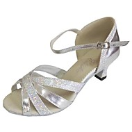 Women's Latin Shoes Heel Salsa Dance Sandals Customizable