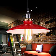 cheap Pendant Lights-Rustic/Lodge Traditional/Classic Retro LED Pendant Light Ambient Light For Living Room Bedroom Bathroom Dining Room Study Room/Office