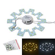 Jiawen 18W 1600lm hvit / varm hvit lyskilde for taklampe / magnetiske spiker (ac175 ~ 265V)