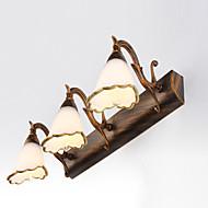 billige Vanity-lamper-Rustikk / Hytte Baderomsbelysning Metall Vegglampe IP67 110-120V / 220-240V 40W