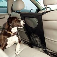 billiga Reseprodukter för hunden-Hund Bilsätesskydd Husdjur Transportörer Vikbar Enfärgad Svart
