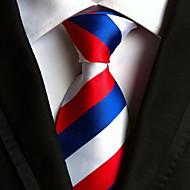 Homme Soirée / Travail / Basique Cravate Rayé