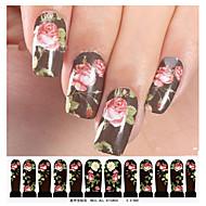 1 pcs 3D Negle Stickers Negle Smykker Negle kunst Manicure Pedicure Smuk Mode Daglig / Negle smykker / 3D Nail Stickers