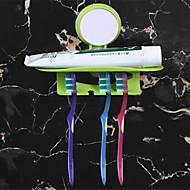 1pc Kreativan Moderna plastika Držač četkica za zube Zidne slavine