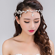 ieftine Modă Veche-Aliaj Banderolele / Veșminte de cap cu Floral 1 buc Nuntă / Ocazie specială Diadema